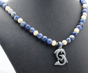 blue, gift for him, and dolphin image