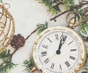 background, christmas, and christmas lights image