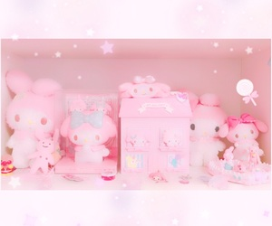 pastel, sanrio, and ピンク image