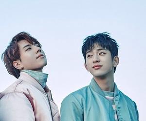JR, got7, and jinyoung image