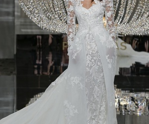 bridal dresses, pronovias 2018, and couture wedding gowns image