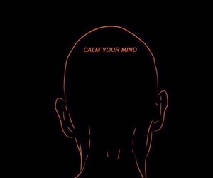 mind, quotes, and black image