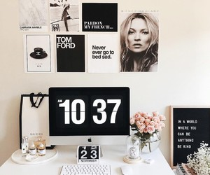bedroom, inspo, and chic image