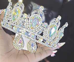 beauty, bling, and crown image