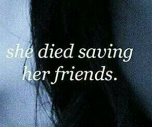 death, friendship, and quotes image