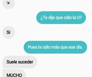 messenger, sad, and conversacion image