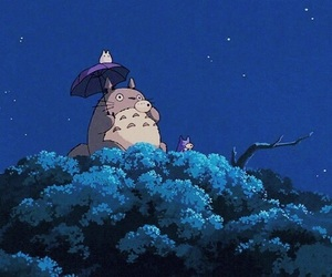 gif, totoro, and anime image