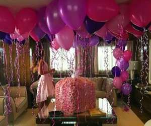 amazing, balloons, and birthday image