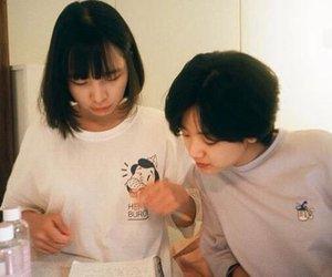 couple, girl, and korean image