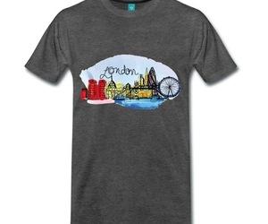 city, t-shirt, and tee image