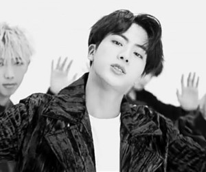 bts, jin, and remix image