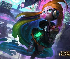 lol, zoe, and league of legends image