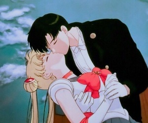 sailor moon, anime, and couple image