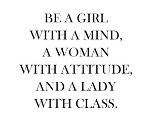class, lady, and girl image