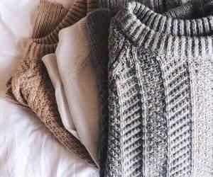 fashion, sweater, and autumn image