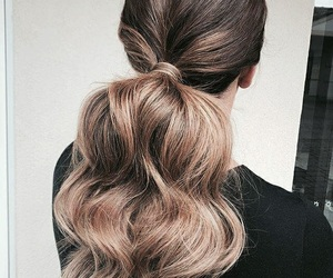 girl fashion style, hair hairstyles, and luxury glamour image