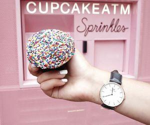 cupcake, watch, and danielwellington image