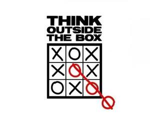 box, think, and funny image