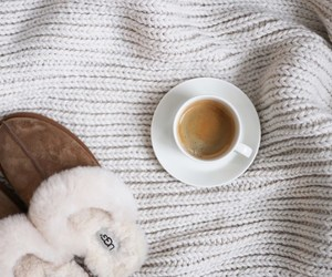 cashmere, coffee cup, and cozy image
