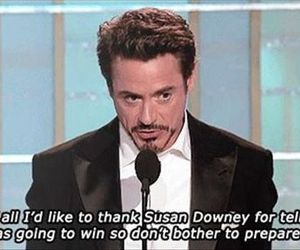 funny and fobert downey jr image