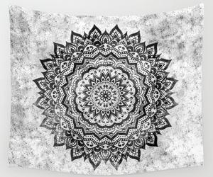 black, bohemian, and gray image