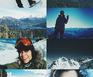 edit, wallpaper, and snow image