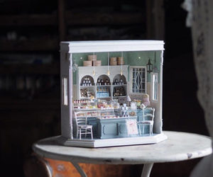 bakery, doll, and doll house image