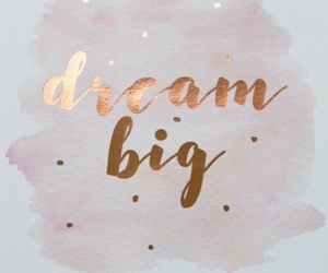 Dream, gold, and quotes image