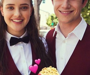 hannah baker, 13 reasons why, and dylan minnette image