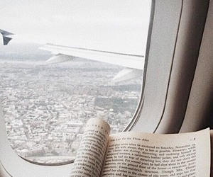 book, travel, and love image