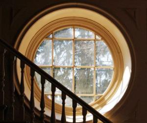 window, hufflepuff, and yellow image
