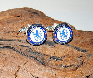 etsy, sports cufflinks, and chelsea patch image