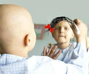 kid and fuck the cancer image
