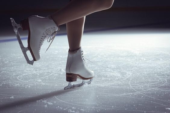 ice skating, ice, and winter image