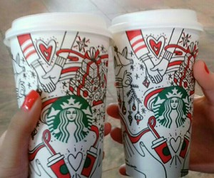 cups, red, and friendship goals image