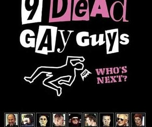 film, movie, and 9 dead gay guys image