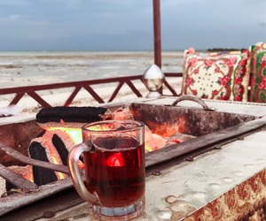 arabic, tea, and winter image