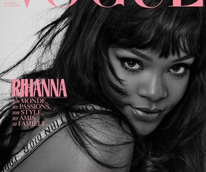 rihanna, vogue, and magazine image