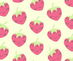 strawberries, strawberry, and wallpapers image