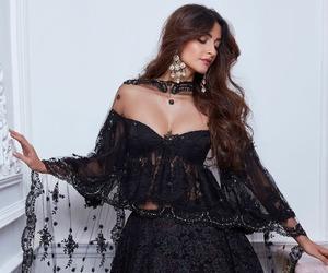 sonam kapoor, black, and fashion image
