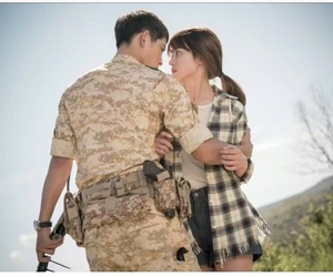 descendants of the sun, kdrama, and song hye kyo image