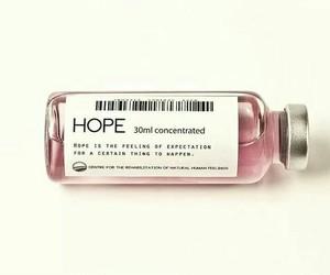 hope, pink, and medicine image