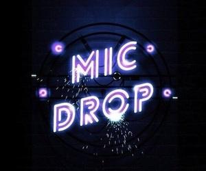 bts, wallpaper, and mic drop image