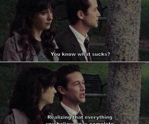 500 Days of Summer, quotes, and movie image