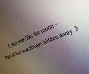 quotes, moon, and grunge image