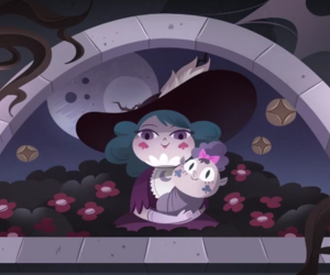 eclipsa butterfly, meteora butterfly, and monster bash image