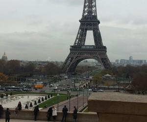 eiffel, paris, and tour image