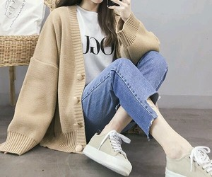 aesthetic, asian, and beige image