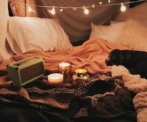 cozy, autumn, and blankets image