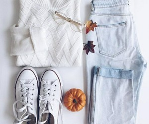 fashion, fall, and jeans image